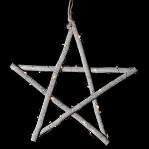 Wooden Star LED