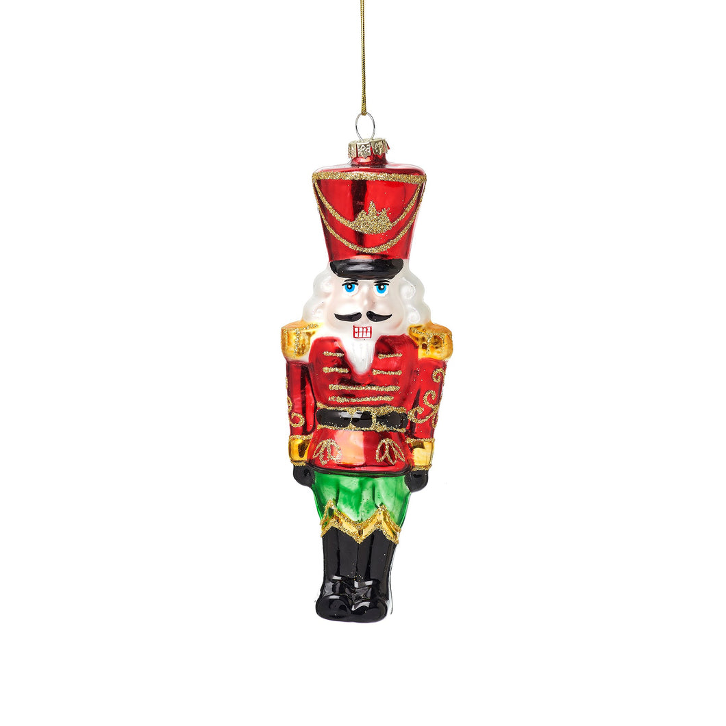 Nutcracker Doll Shaped Bauble