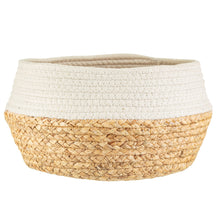 Load image into Gallery viewer, Seagrass Basket White