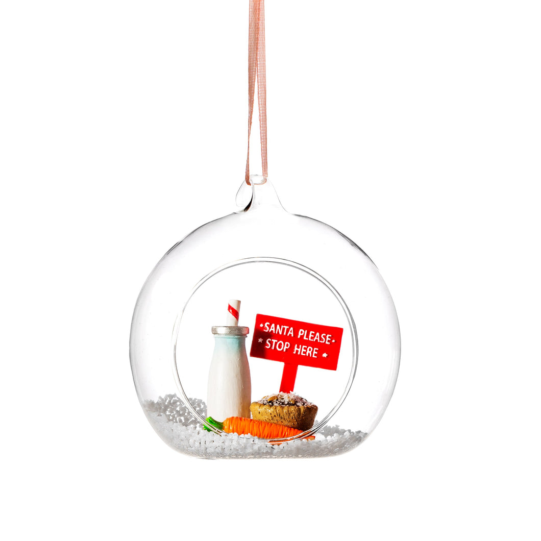 Santa Please Stop Here Bauble