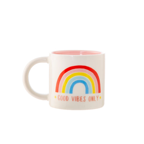 Rainbow Good Vibes Mug