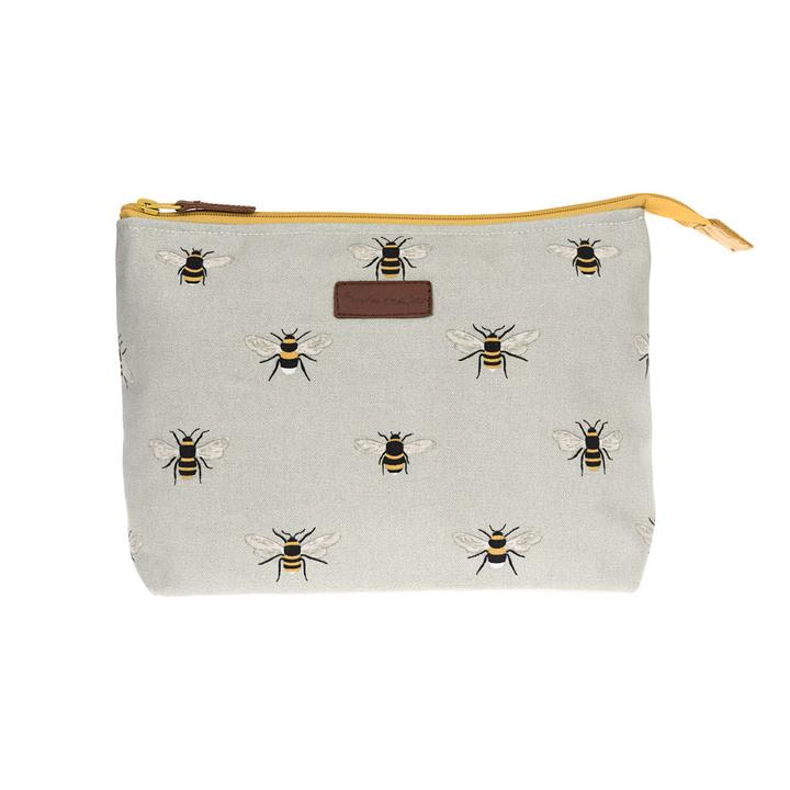 Bee Canvas Wash Bag