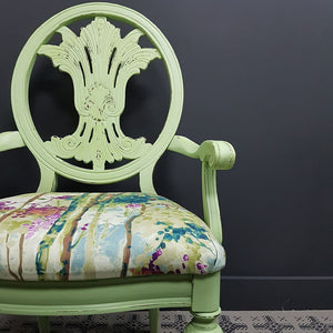 Annie Sloan Chalk Paint™ Lem Lem Limited Edition Chair