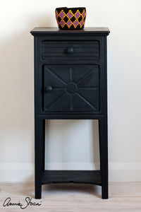 Athenian Black, Chalk Paint™ by Annie Sloan side table
