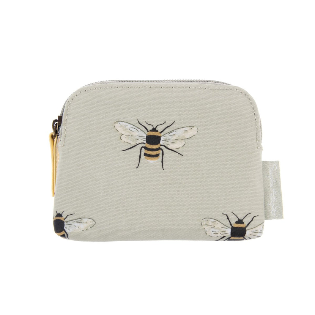 Sophie Allport Bee Oilcloth coin purse