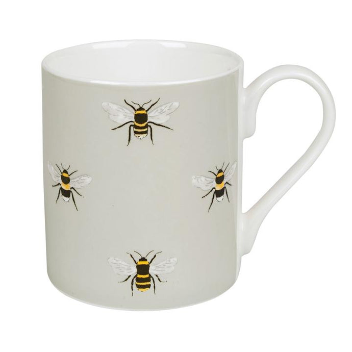 Soft Green Bee Mug