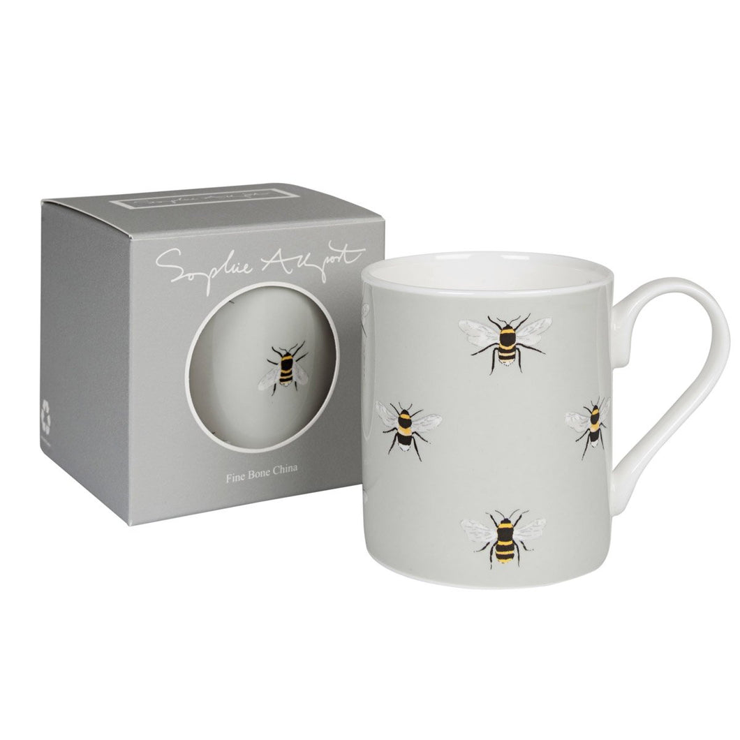 Sophie Allport Love Restored Duck Egg Mug