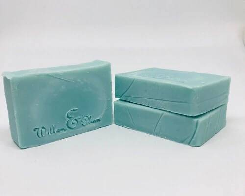 Willow and Plum Cedarwood and Scottish Sea Salt soap