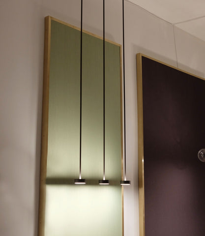 Softspot Pendant Blackened Brass
