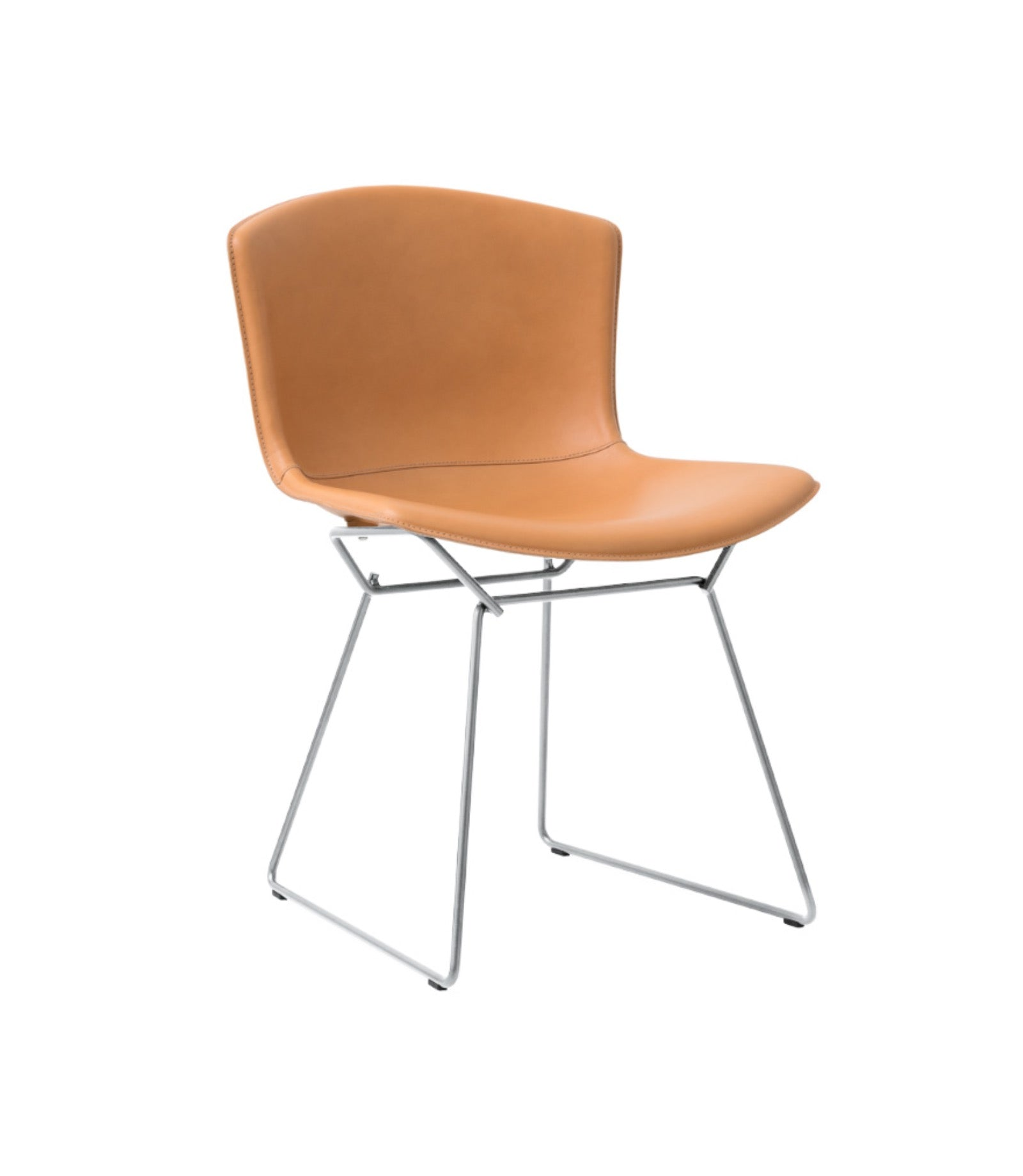 Bertoia Side Chair in Cowhide