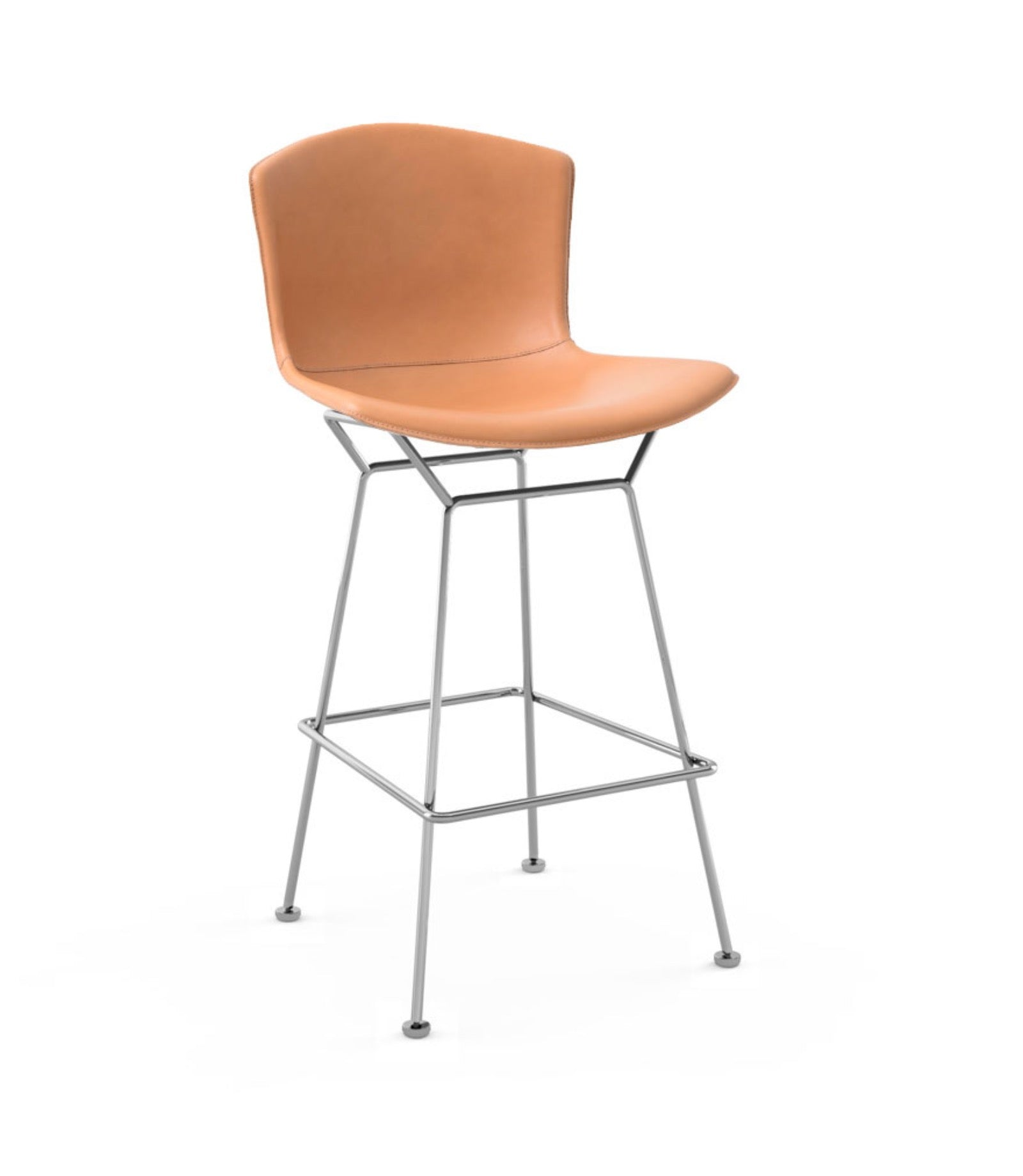 Bertoia Bar Stool in Cowhide