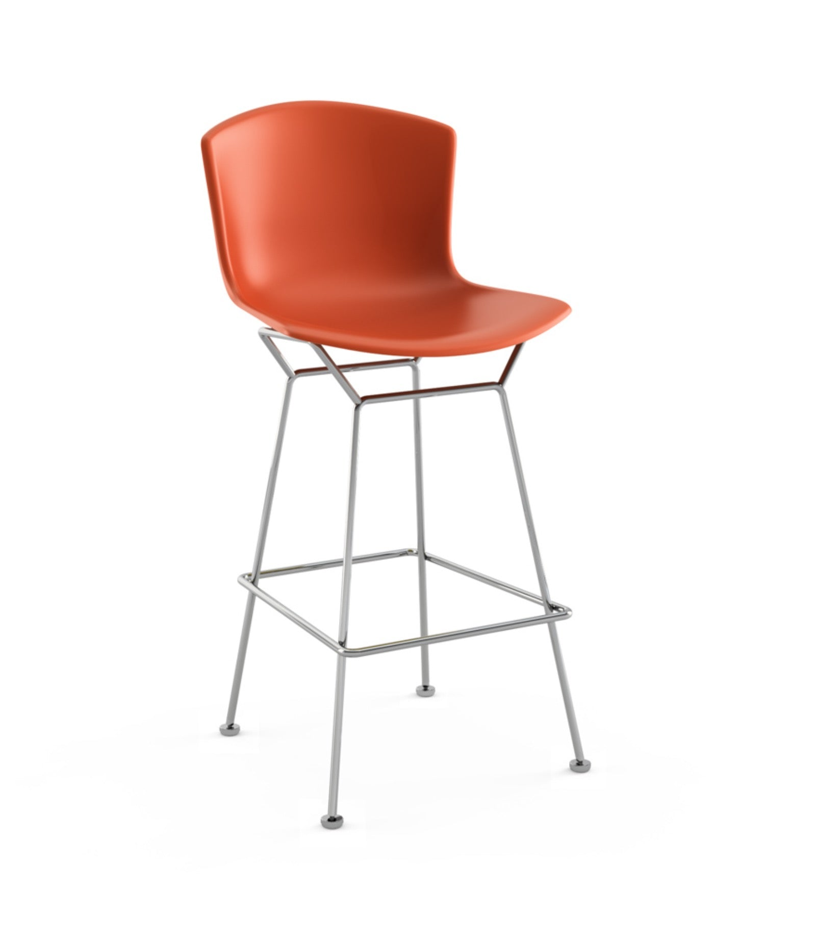 Bertoia Counter Height Plastic Bar Stool