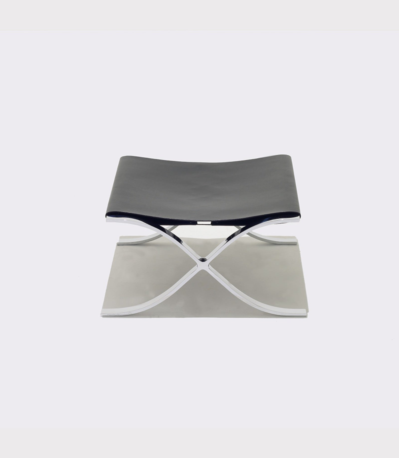 Barcelona® Stool with Cowhide Sling