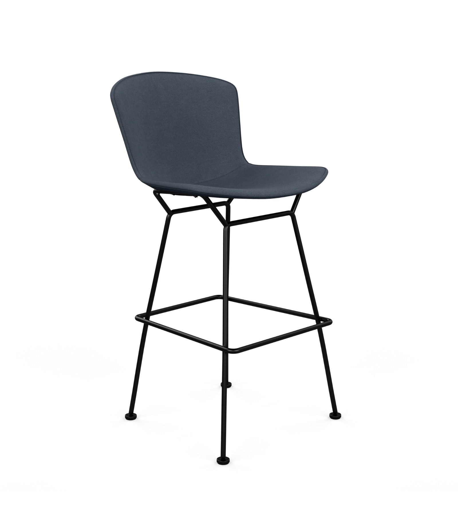 Bertoia Counter Height Bar Stool Fully Upholstered