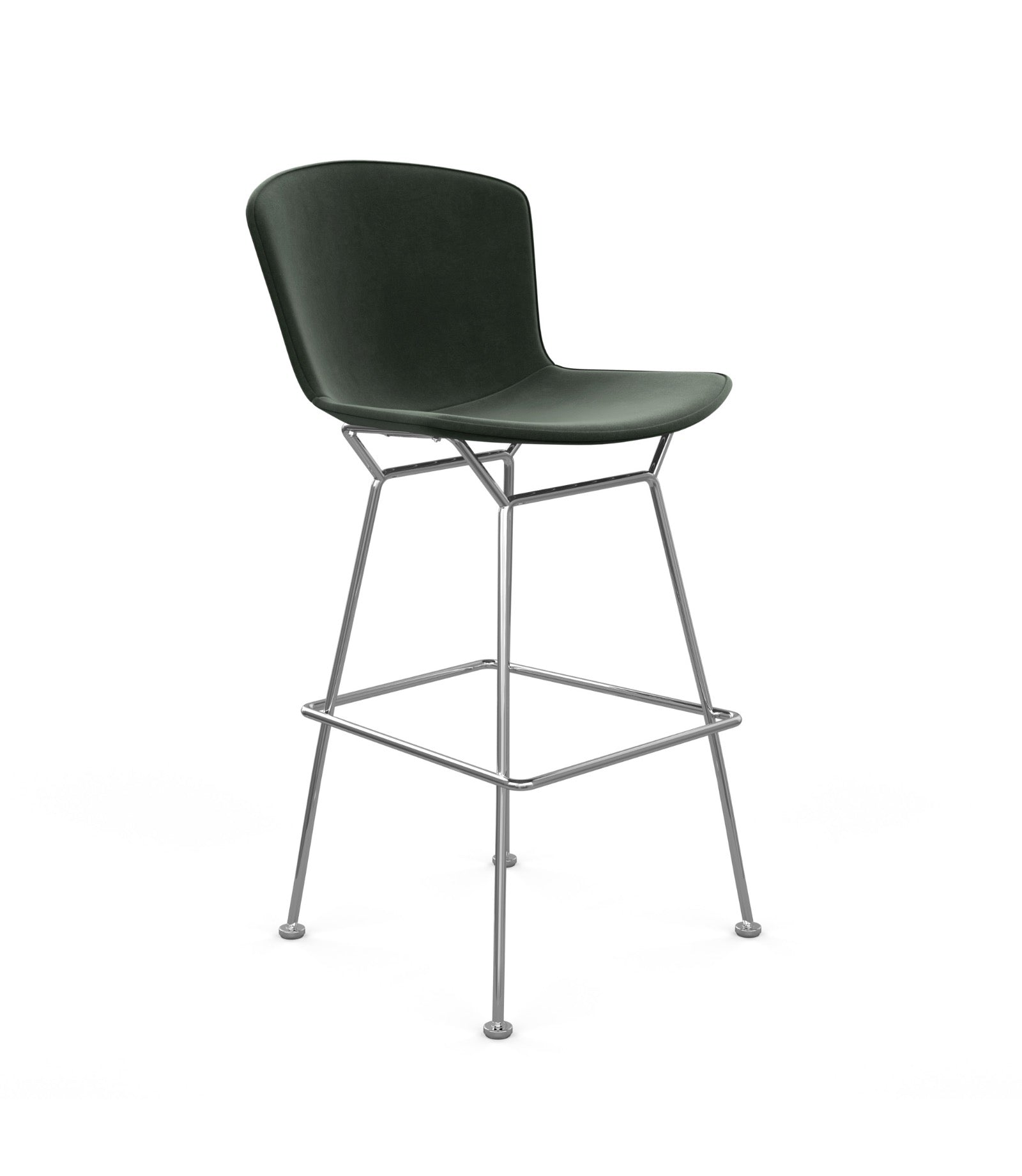 Bertoia Bar Stool Fully Upholstered