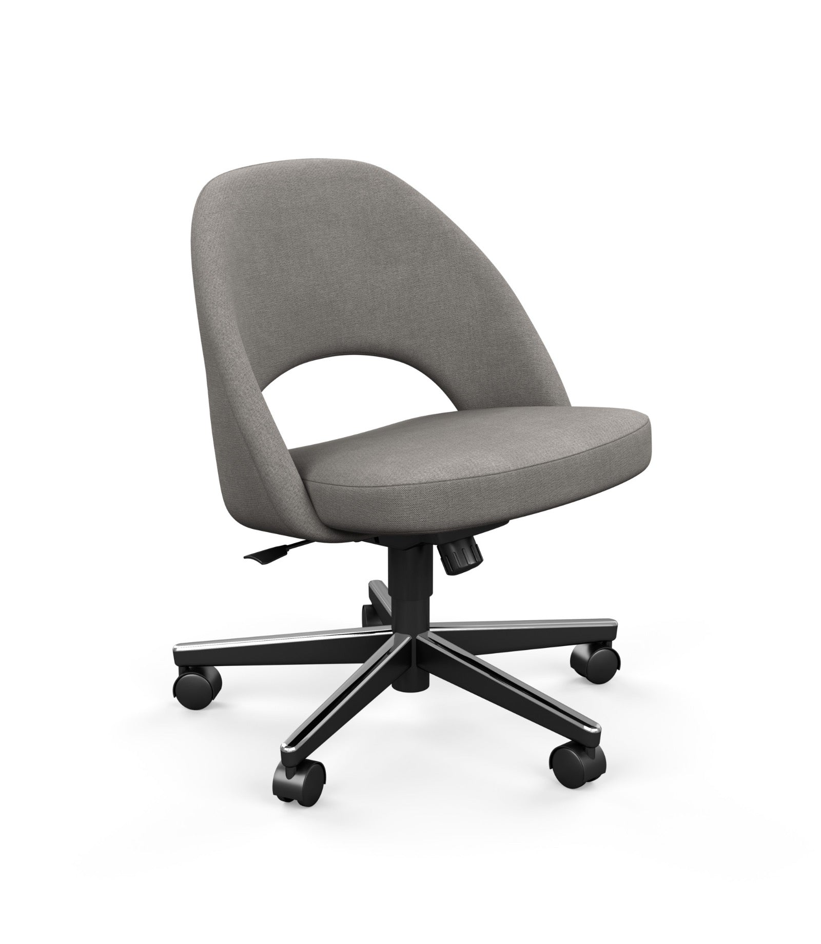 Saarinen Executive Armless Chair with Swivel Base