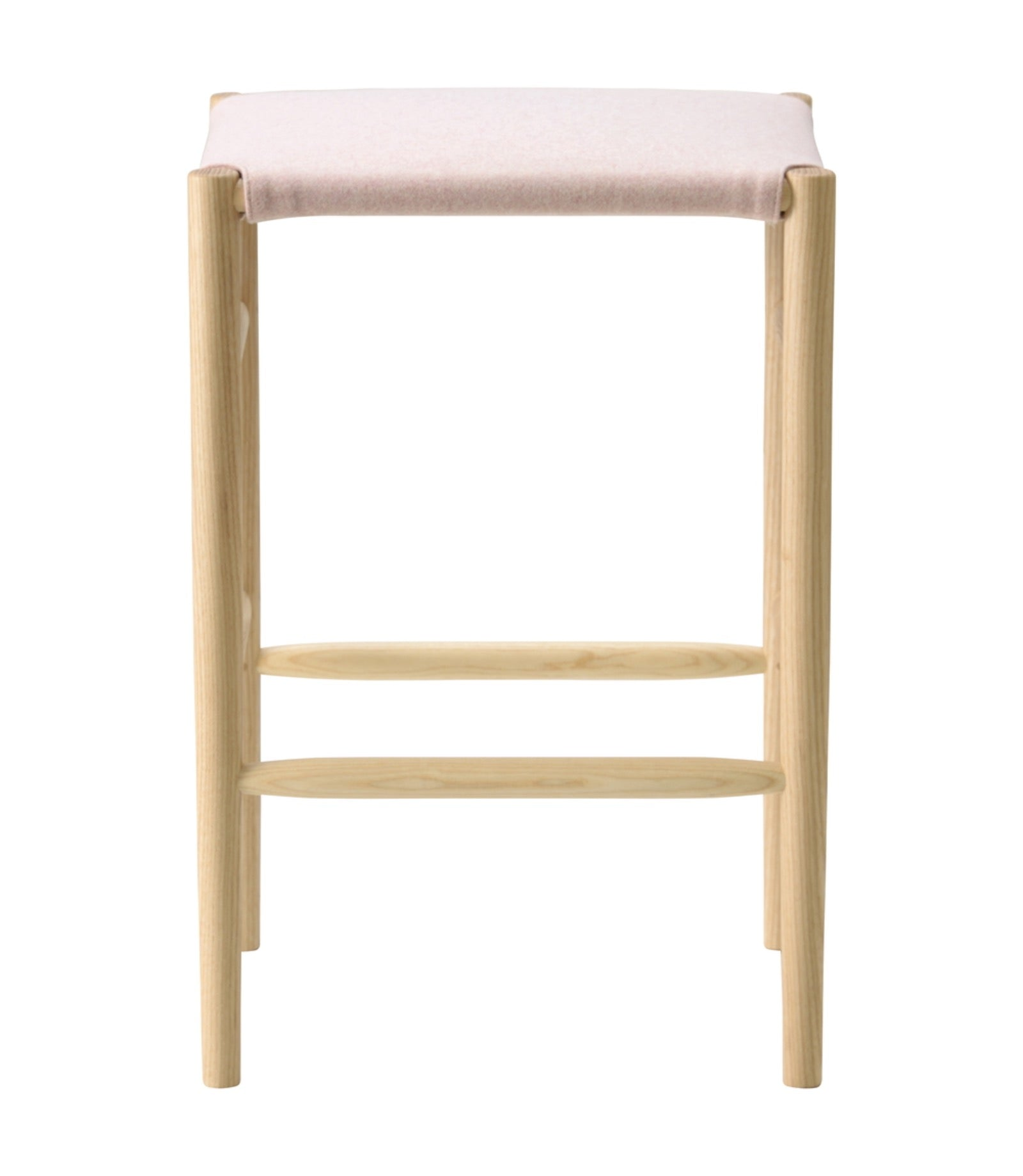 Lightwood Stool Mid Cushioned Seat