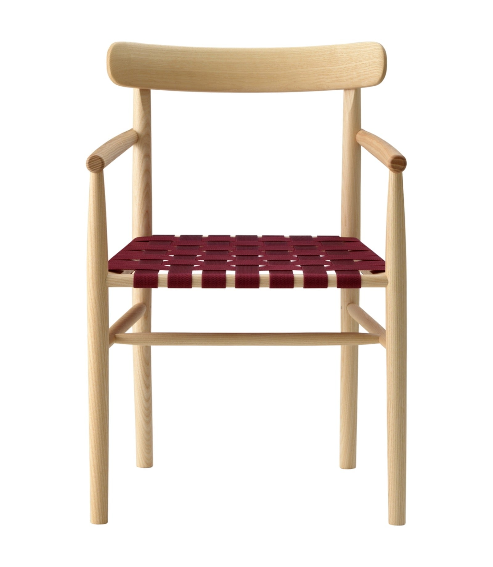 Lightwood Armchair Webbing Seat