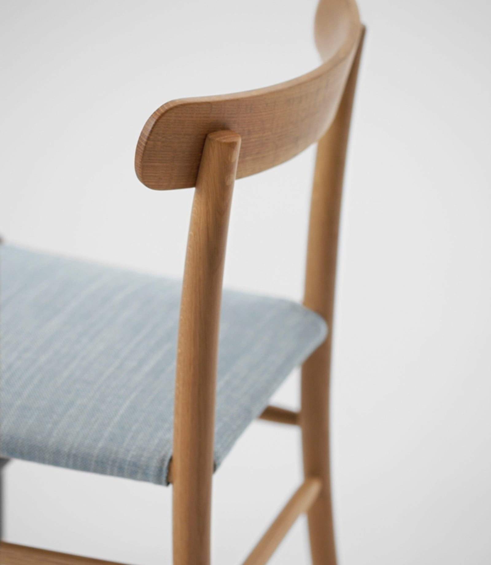 Lightwood Chair Cushioned Seat