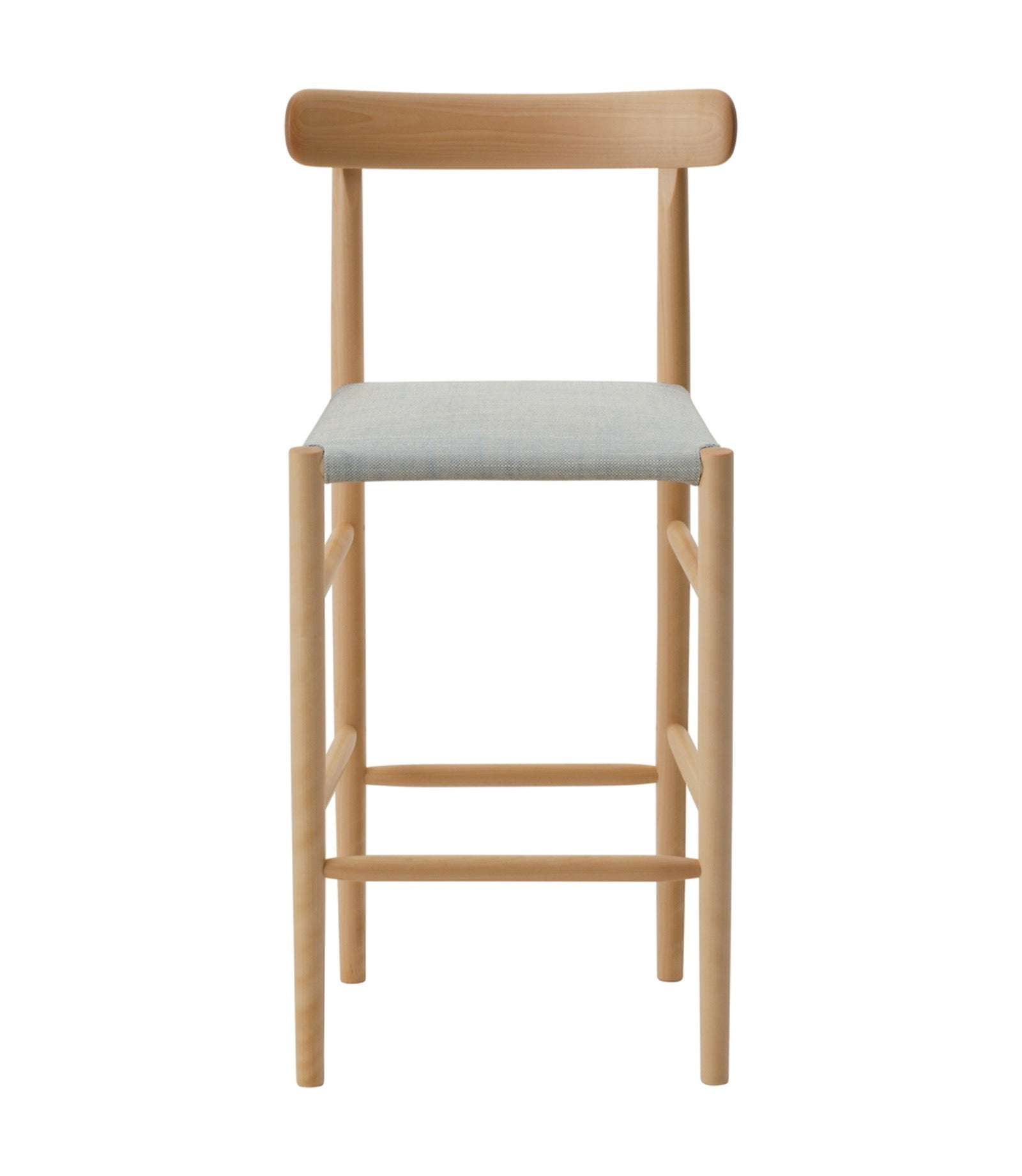 Lightwood Bar Stool Mid Cushioned Seat