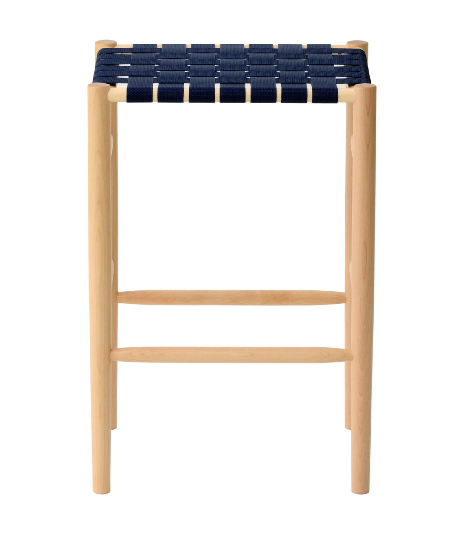 Lightwood Stool Mid Webbing Seat