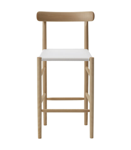 Lightwood Bar Stool Mid Mesh Seat