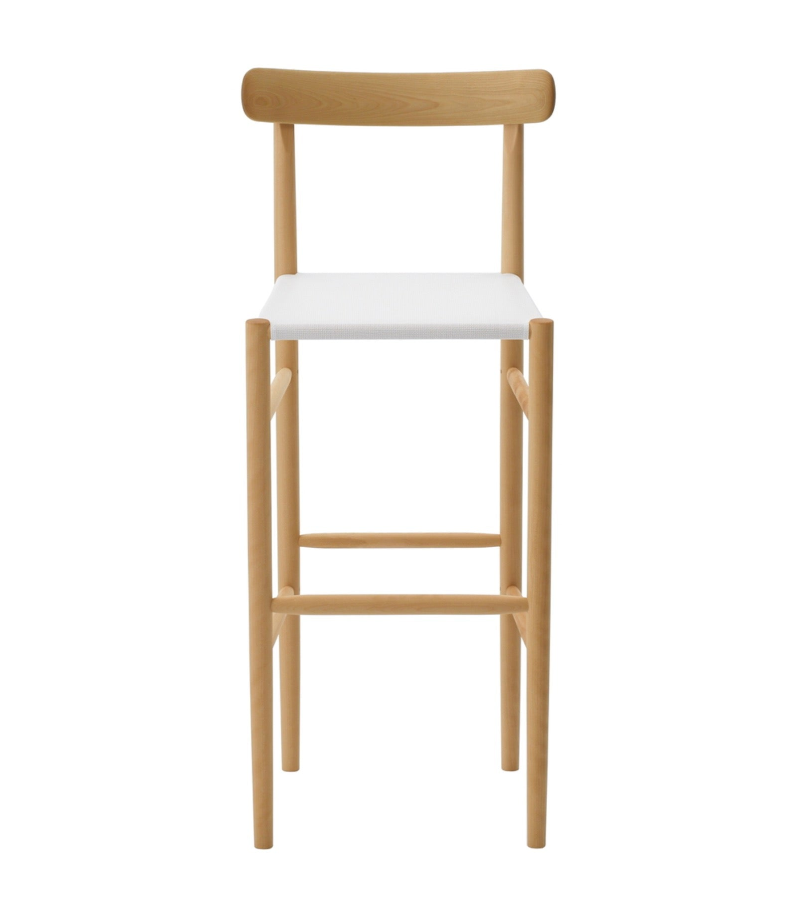 Lightwood Bar Stool High Mesh Seat