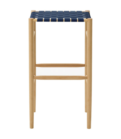 Lightwood Stool High Webbing Seat