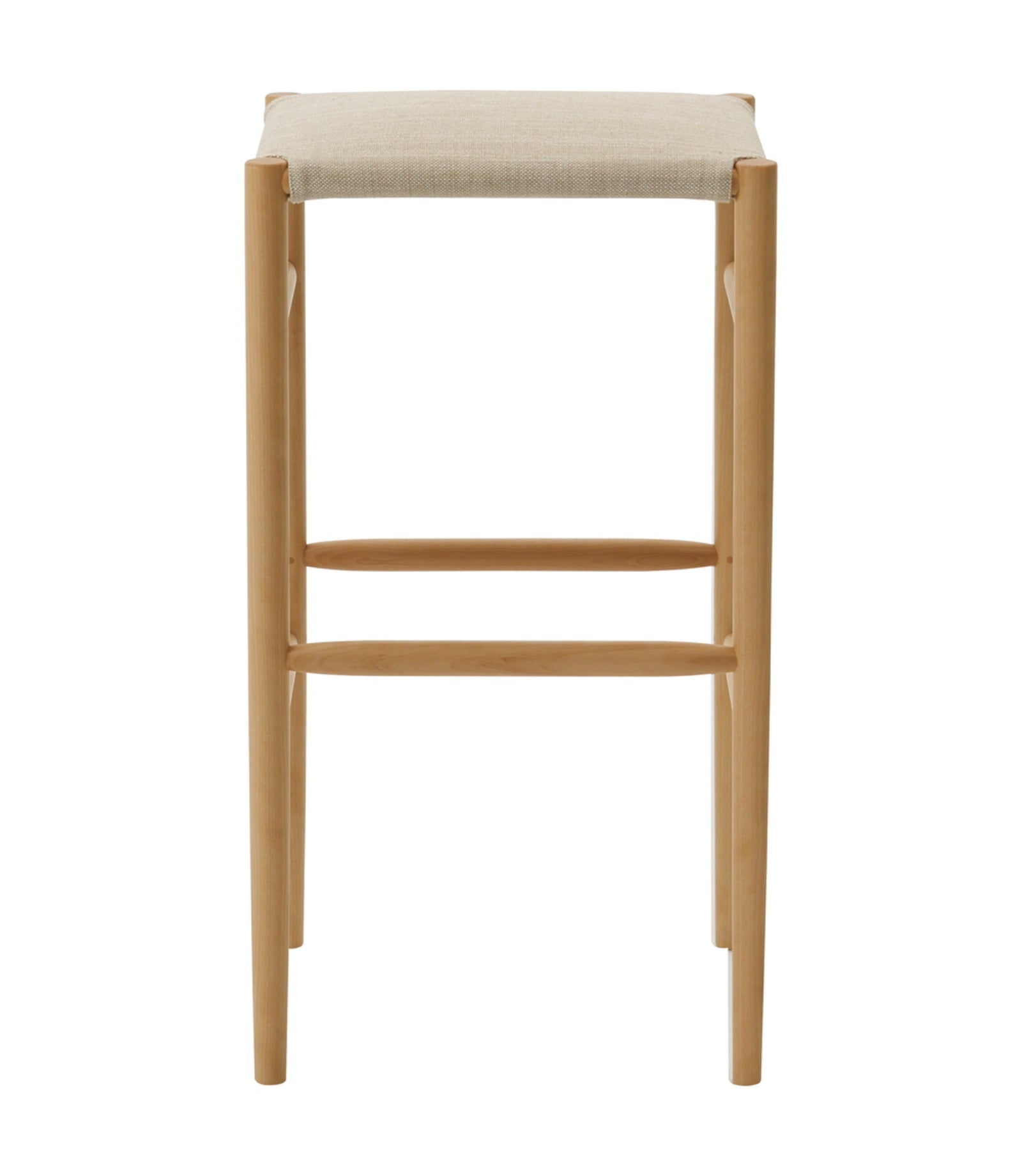Lightwood Stool High Cushioned Seat