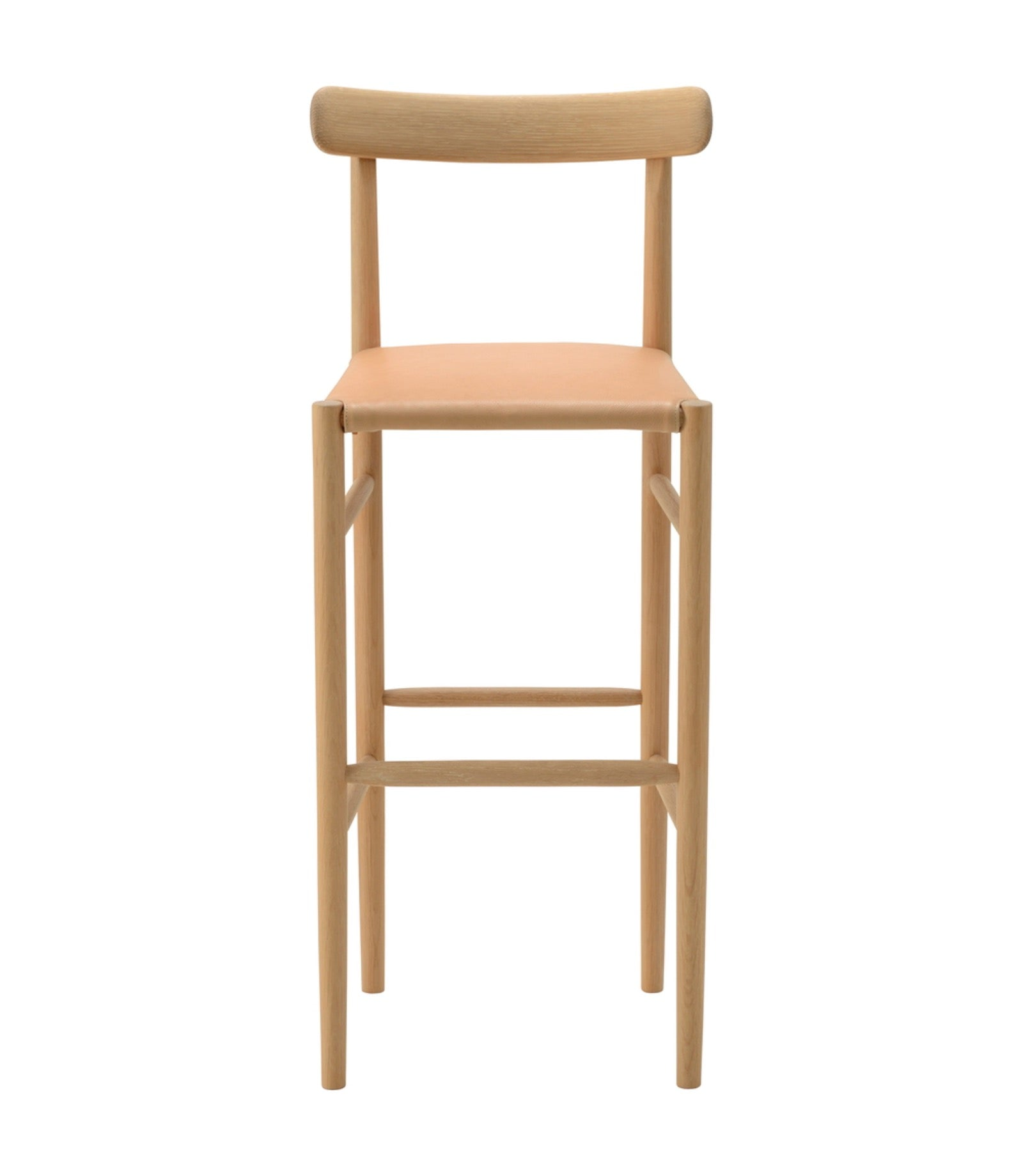 Lightwood Bar Stool High Cushioned Seat