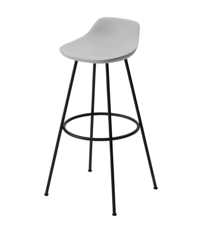 Hiroshima Stool High Wooden Seat