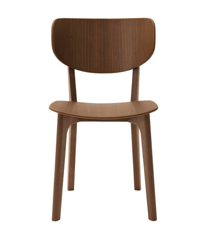 Roundish Chair Wooden Seat