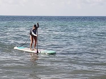 Kat Pyne Live Love SUP Race The Reef 2018