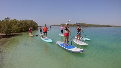 Stand Up Paddle Lessons Women's Clinic