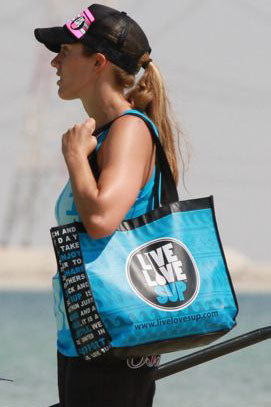 Live Love SUP Reusable Shopping Bag
