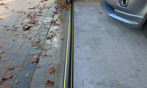 Weather Stop Garage Door Seal Coil 25mm (High) Ramp Design