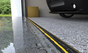 Weather Stop Garage Door Floor Seal 25mm (High) Ramp Design