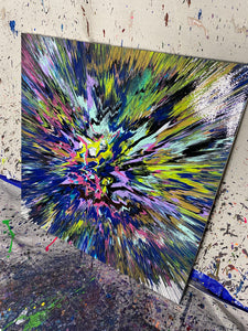Explosion De Colores (36x36 large piece)