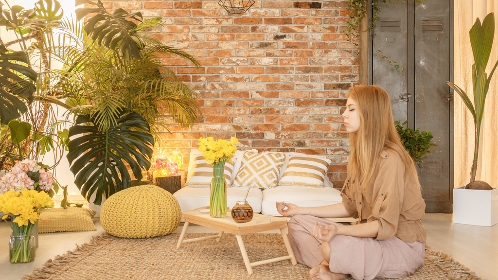 Vīb + Sol Designs Blog - How to Create Your Meditation Space at Home