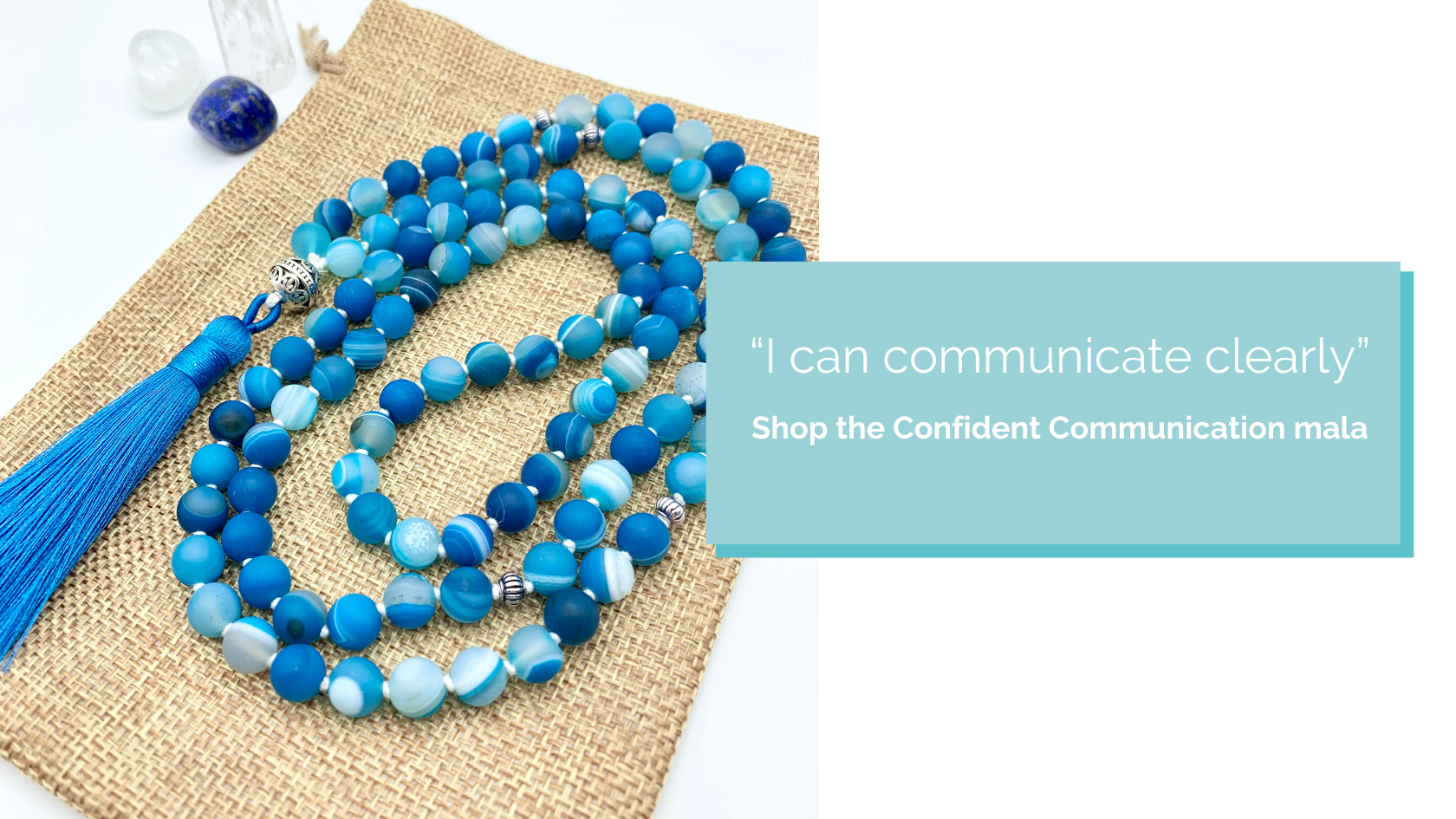 Shop the Confident Communication Mala