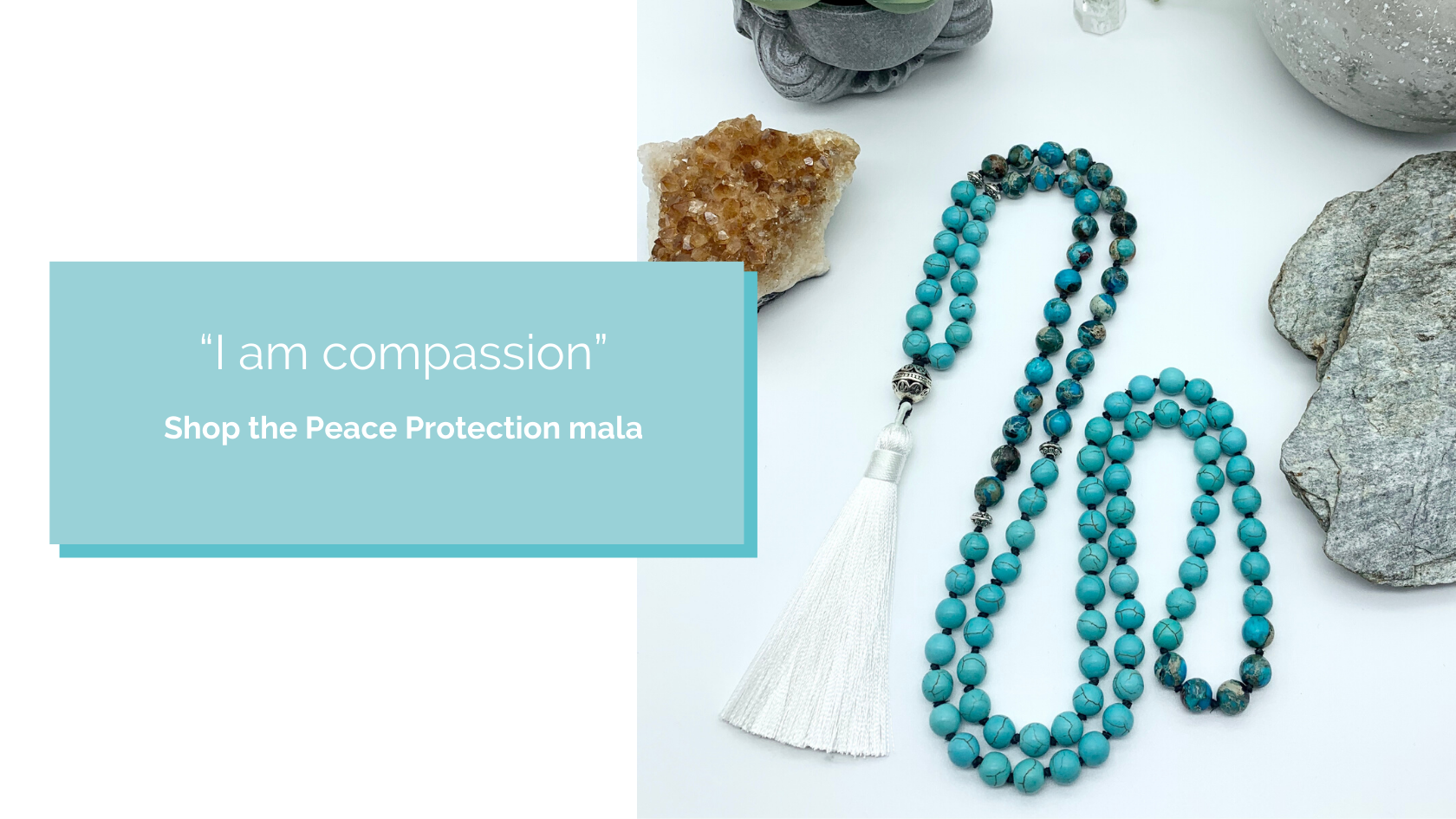 Shop the Peace Protection Mala