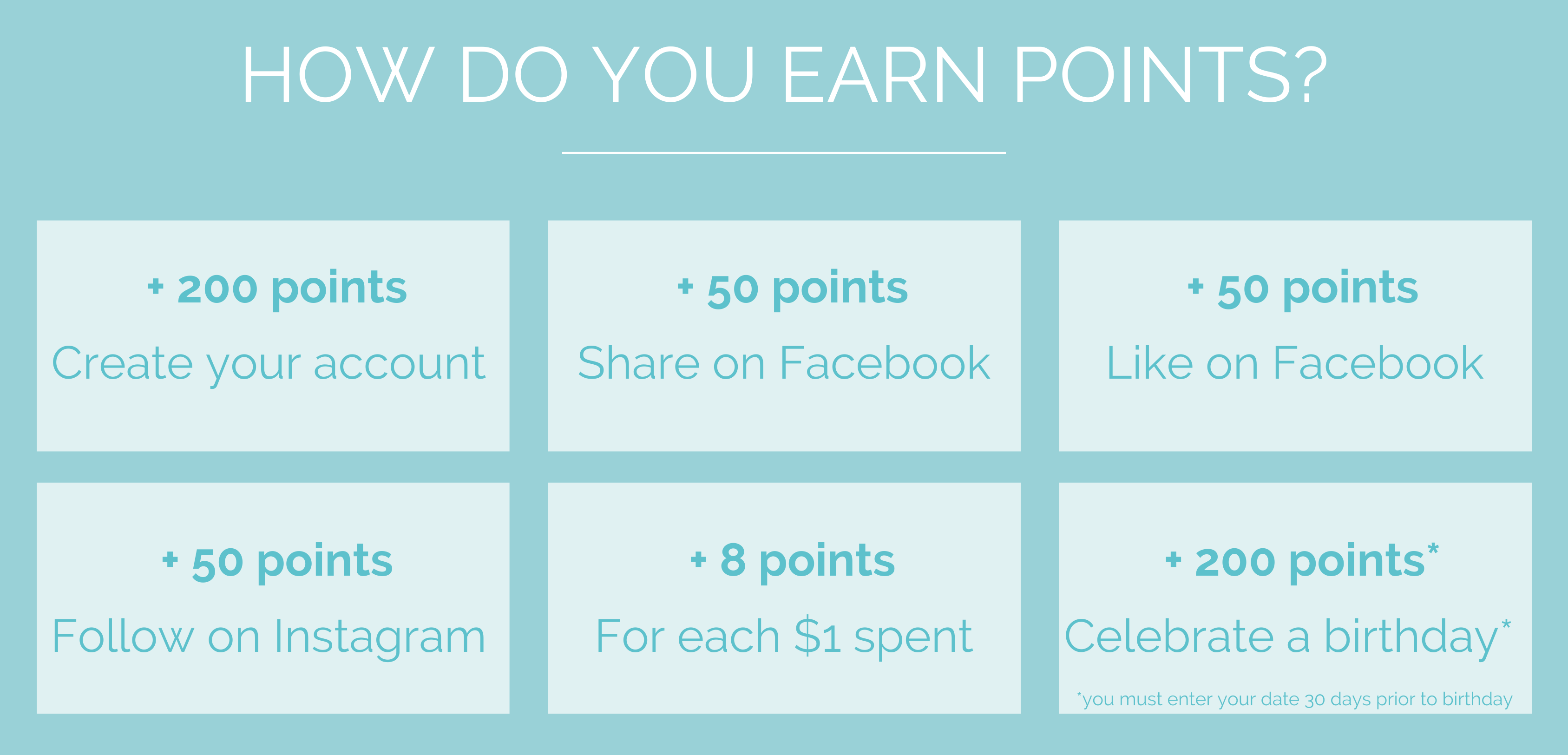 Vib and Sol Designs Rewards Program How To Earn Points
