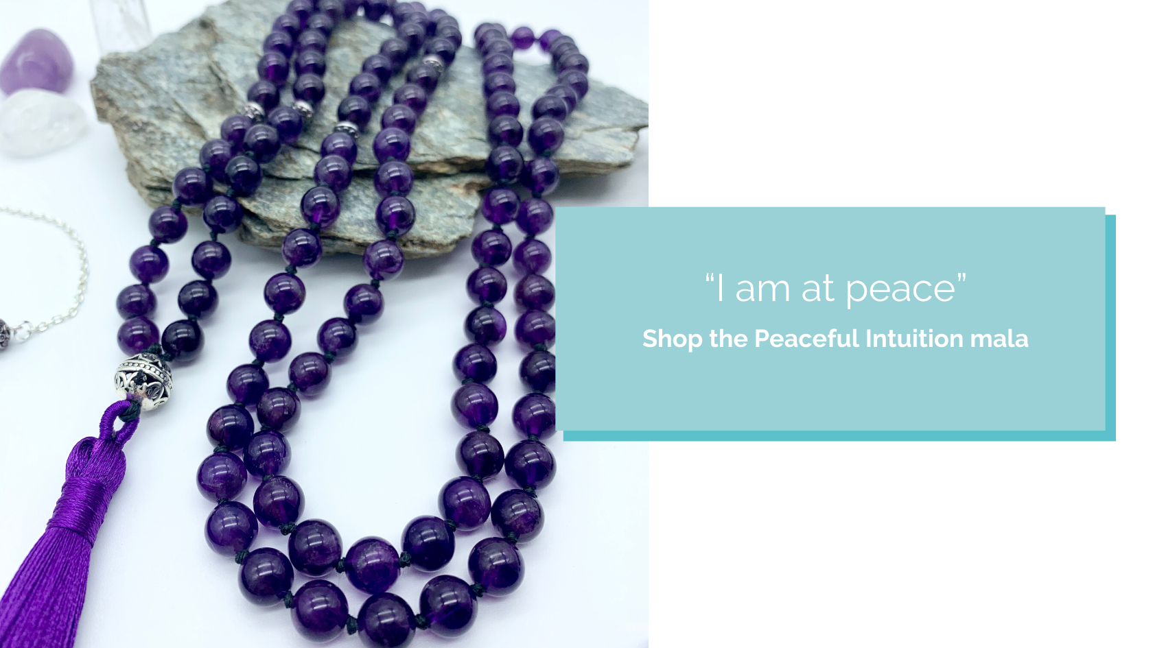 Shop the Peaceful Intuition Mala