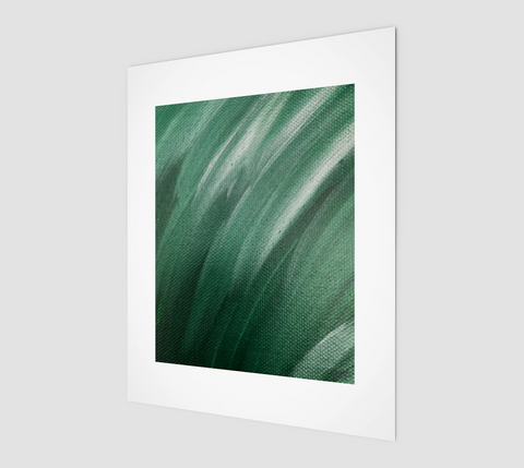 "Abstract Forest 8"" x 10"" Print on high quality matte paper by Vib and Sol Designs"