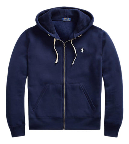 Men's Full Zip Hoodie in Cruise Navy
