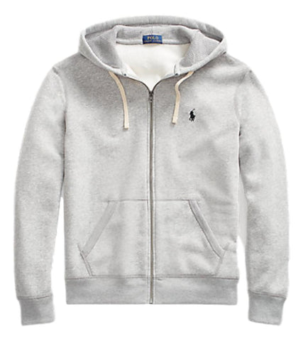 Men's Full Zip Hoodie in Grey Andover Heather