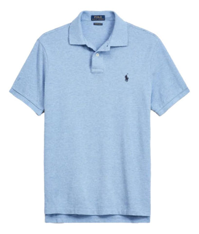 Men's Polo Top in Classic Fit Jamaica Heather