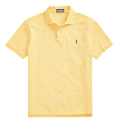 Men's Polo Top in Classic Fit Yellow