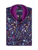 Colourful Floral Print Pure Cotton Shirt SL6699