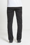 Ace Slim Fit Stretch Jeans in True Black